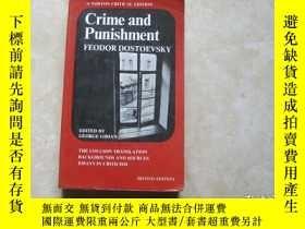 二手書博民逛書店Crime罕見and Punishment(Norton Critical Editions)Y179148