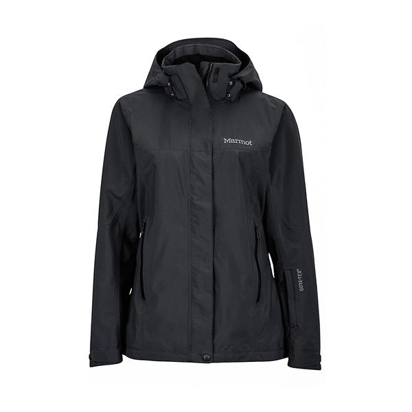 [Marmot] Palisades GTX (女) 防水+羽絨兩件式外套 黑 (M35470-0001)