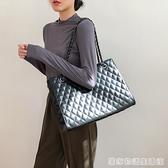 包包女大容量潮新款高級感韓版簡約百搭手提單肩斜背包托特包