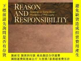 二手書博民逛書店Reason罕見And Responsibility-原因與責任Y436638 Regents Profess