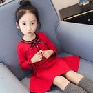 萬聖節狂歡 兒童韓版童裝女童春裝2018新款春秋裝公主連身裙寶寶長袖洋氣裙子 桃園百貨