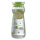 金時代書香咖啡 CafeDeTIAMO 玻璃水壺950ml 綠色蘋果(綠) SGS檢測合格 HG2288G