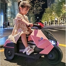 兒童汽車 兒童電動摩托車三輪車男女可坐人充電電瓶車帶遙控小孩玩具車TW【快速出貨八折鉅惠】