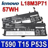 LENOVO L18M3P71 . 電池 L18C3P71 L18L3P71 L18M4P73 L18M4P74 SB10K97649 SB10K97650 ThinkPad T590 T15 P53S 系列