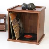 黑膠唱片LP收納箱CD架