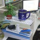 黑色好物節 辦公桌隔板收納置物架掛籃 辦...
