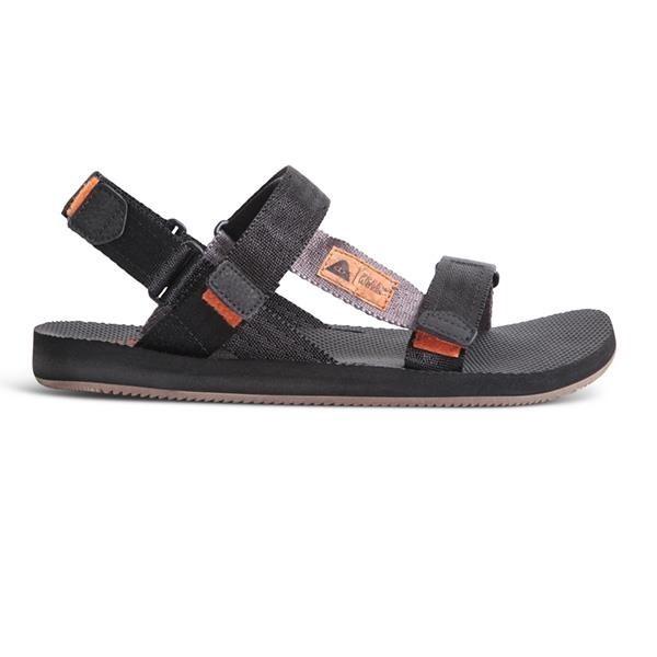 【南紡購物中心】【freewaters】X【POLeR】聯名款寬織帶可拆式涼鞋 / 黑