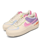 Nike 休閒鞋 Wmns Air Force 1 Shadow 米白 彩色 女鞋 皮革 運動鞋 【PUMP306】 CU3012-164