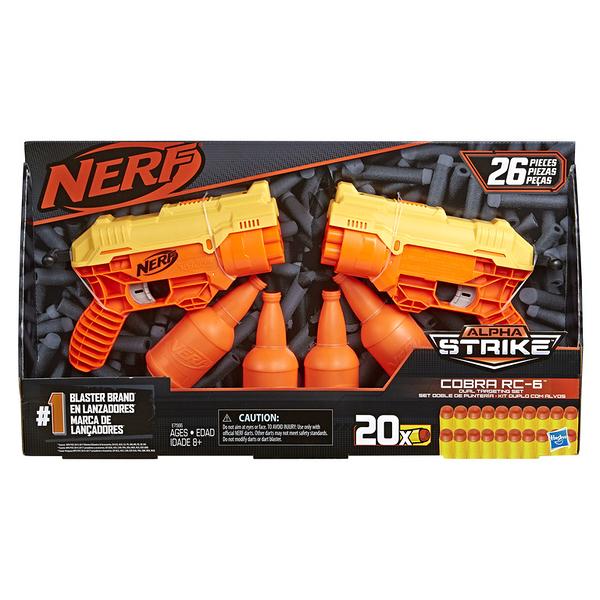 11月特價 NERF樂活射擊遊戲 ALPHA strike 眼鏡蛇突襲者 RC-6 雙入組 TOYeGO 玩具e哥