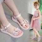 女童涼鞋 兒童涼鞋女童鞋子夏季新款仙女風女孩公主鞋軟底防滑中大童鞋-Ballet朵朵