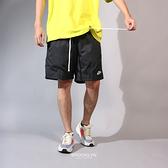 NIKE 短褲 NSW 短褲 風褲材質 黑白 輕量 口袋 健身 慢跑 男 AR2383-010