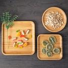 [超豐國際]日式木質盤子方形早餐托盤家用...
