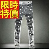 牛仔褲-熱銷時髦丹寧男休閒長褲59i33[巴黎精品]