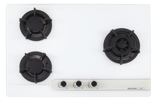 櫻花牌 G2633G 三口大面板易清檯面爐 (限北北基地區購買安裝)