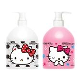 Hello Kitty 洗手乳(300ml) 白麝香/小蒼蘭 款式可選【小三美日】 三麗鷗授權