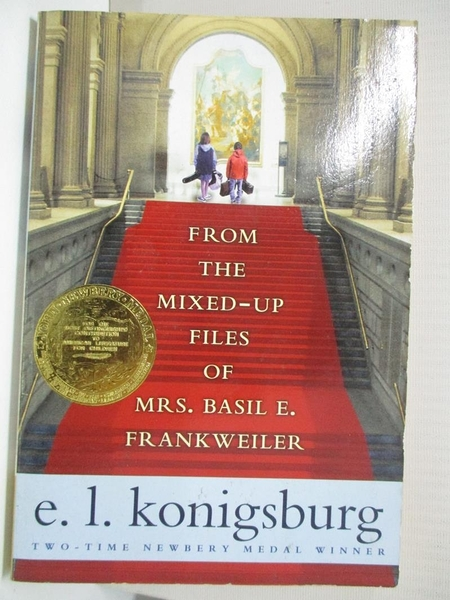 【書寶二手書T5/原文小說_B8H】From the Mixed-Up Files of Mrs. Basil E. Frankweiler_KONIGSBURG