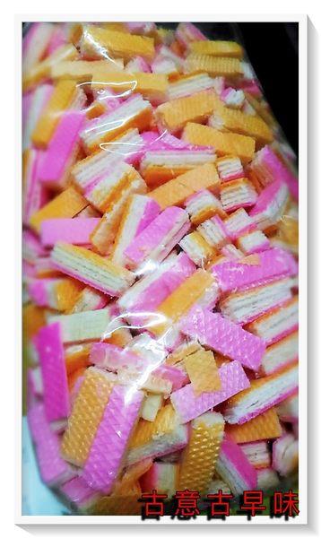 古意古早味 哈士餅-香蕉餅(軟質/3000公克/量販包/長6cm) 懷舊零食 童年回憶 台灣零嘴 餅乾