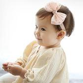兒童蝴蝶結髮帶 韓國星星網紗柔軟蝴蝶結髮帶 兒童髮飾