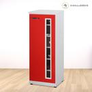 【米朵Miduo】1.4尺塑鋼單門鞋櫃 防水塑鋼家具