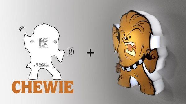 萬聖節~星際大戰七部曲 原力覺醒 3D造型迷你夜燈-Cheiwie -  (加拿大原裝進口)/3D LIGHT FX出品