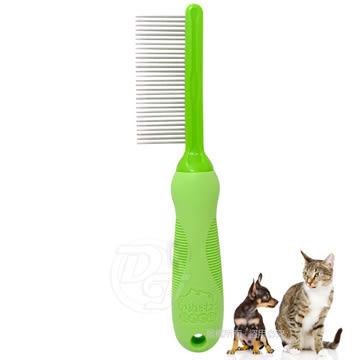 《一打就通》寵物物語 犬貓用專業單面式排梳