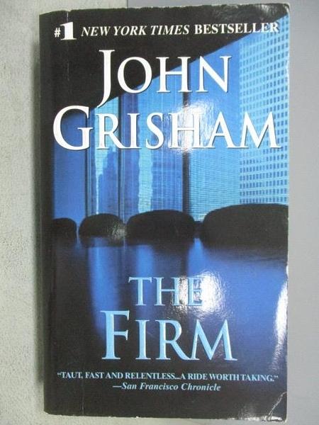 【書寶二手書T9/原文小說_MPJ】The Firm_John Griham