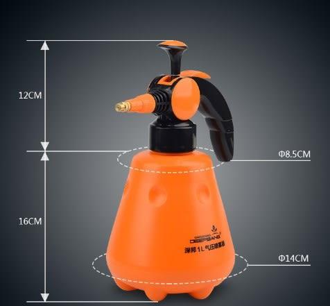 (協貿國際)壓力噴壺園藝工具氣壓式灑水壺澆水壺 1入