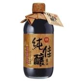 萬家香純佳釀醬油450ml【愛買】