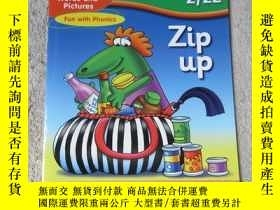 二手書博民逛書店Zip罕見up(Words and Pictures Fun w