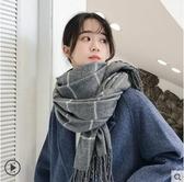 圍巾女秋冬季學生日系加厚韓版百搭情侶粗毛線可愛少女圍脖男潮-風尚3C
