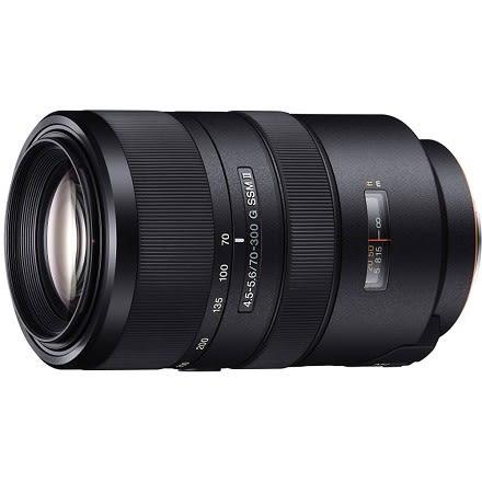 SONY G 鏡70-300mm F4.5-5.6 數位單眼相機鏡頭 SAL70300G2