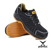 【PAMAX帕瑪斯】PAA66602HP- -透氣網布、運動型止滑安全鞋-反光條設計-男女尺寸:3-13