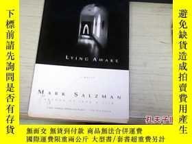 二手書博民逛書店Lying罕見Awake: A Novel by Mark Sa
