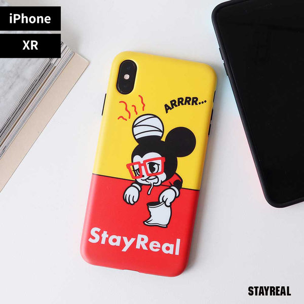 STAYREAL 鼠小小餓我知道手機保護殼 - iPhone XR