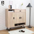 【多瓦娜】MIT日式工業-瑞克4尺鞋櫃-二色-18048