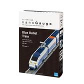 【日本 Kawada 河田】Nanoblock 迷你積木 nanoGauge 列車收藏 (藍) NGT-010