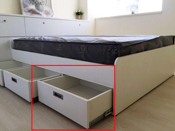 床架- 抽屜床專用抽屜(5尺&6尺) DWTS-5【歐德家具集團全室規劃系列】免費室內設計