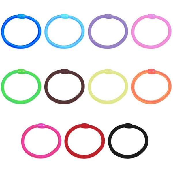 圓球接縫髮圈 耐用百搭 熱銷百搭高彈力髮圈 多種顏色 【D031】