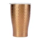 金時代書香咖啡 Tiamo 真空錘紋陶瓷杯 360ml 玫瑰金 HE5165BZ