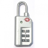 隨心鎖欲機場鎖(有指示窗) SHP-005 銀