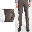 UNIQLO款牛仔褲-百搭墨綠多口袋工作...