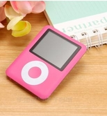 MP3 佳捷訊英語MP3超薄MP4播放機男女學生小蘋果mp6隨身聽錄音外放p3 玫瑰
