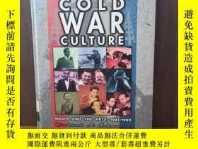 二手書博民逛書店Cold罕見War Culture Media And The Arts, 1945-1990 (Cold War