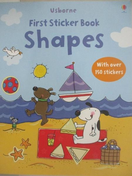 【書寶二手書T8/少年童書_D5A】Shapes Sticker book_Stacey Lamb