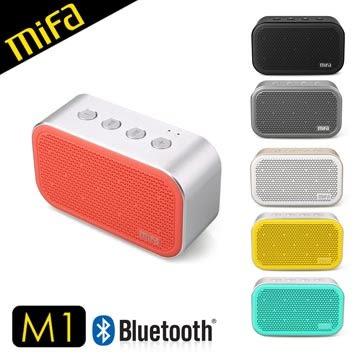 平廣 送8G卡 MiFa M1 藍芽喇叭 藍牙 喇叭 免持通話 APP 鬧鐘功能 可插卡 公司貨保固1年