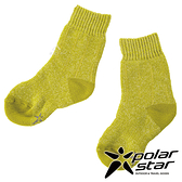 【PolarStar】兒童保暖雪襪『土黃』P19613 露營.戶外.登山.保暖襪.彈性襪.休閒襪.短筒襪.兒童襪