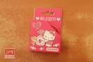 Hello Kitty 凱蒂貓 造型紙膠帶 桃 958349