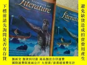 二手書博民逛書店ELEMENTS罕見OF literature THIRD COURSE(2本合售)Y151474 HO|t