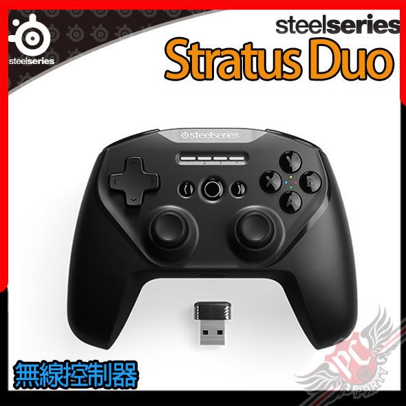 [ PC PARTY  ]   賽睿 SteelSeries Stratus Duo 無線控制器