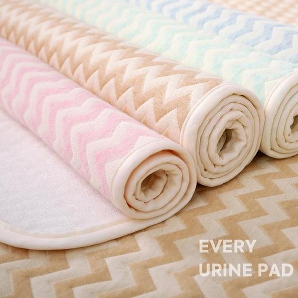 新生隔尿墊嬰兒童防水可洗大號寶寶純棉雙面可用夏天透氣姨媽隔夜 璐璐生活館
